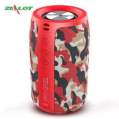 Loa bluetooth Zealot tặng kèm móc khóa chữ 5 Tech nghe nhạc không dây âm thanh siêu trầm hàng chính hãng kết nối ổn định, bluetooth 5.0 dùng cho điện thoại, laptop, PC...