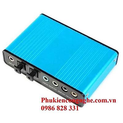 Bộ điều khiển âm thanh 5.1 qua cổng USB máy tính Sound box