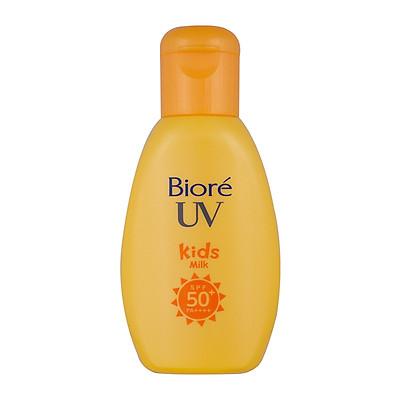 Sữa Chống Nắng An Toàn Dành Cho Trẻ Em Biore UV Kids Milk (90g)