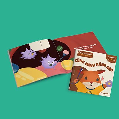Bộ 4 cuốn Kỹ năng sống cho bé từ 1,5 tuổi - Để Con Yêu Tự Lập