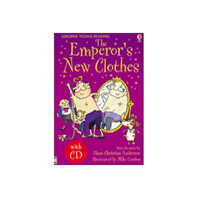 Usborne Young Reading Series One: The Emperor's New Clothes  + CD
