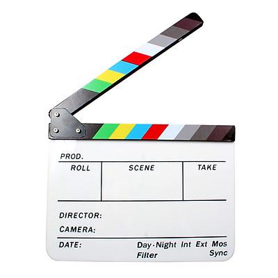 Bảng Đạo Cụ Quay Phim Bằng Gỗ Acrylic (9.6x11.7)
