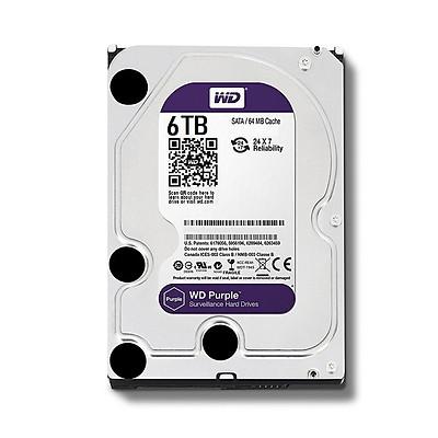 Ổ Cứng HDD Camera WD Purple 6TB ntelliPower - WD62PURZ - Hàng Chính Hãng