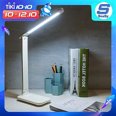 Đèn để bàn cảm ứng kiêm giá đỡ điện thoại SEASY SS11 với 3 chế độ sáng thông minh, ánh sáng đạt chuẩn chất lượng chống cận thị và mỏi mắt, tiết kiệm 80% điện năng - Hàng chính hãng