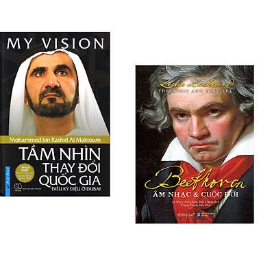 Combo 2 cuốn sách: My ViSion - Tầm Nhìn Thay Đổi Quốc Gia + Beethoven: Âm Nhạc & Cuộc Đời