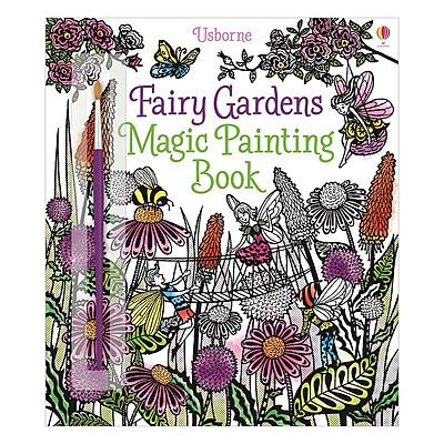 Usborne Fairy Gardens Magic Painting Book