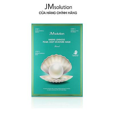 Mặt Nạ Jmsolution Marine Luminous Pearl Deep Moisture Mask Dưỡng Trắng 30ml