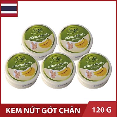 Bộ 5 Hộp Kem Ngừa Nứt Gót Chân Banana - Hộp 24g