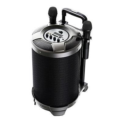 Loa Kéo Karaoke Remax RB-X6 công suất 50W tích hợp 2 micro không dây - Hàng nhập khẩu