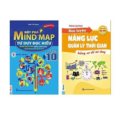 Combo Học tốt ngữ văn lớp 11: Đột Phá Mindmap - Tư Duy Đọc Hiểu Môn Ngữ Văn Bằng Hình Ảnh Lớp 11 + Rèn luyện năng lực tự học (tặng sổ tay vẽ sơ đồ tư duy)