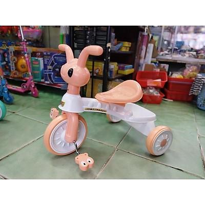 Xe chòi chân - xe 3 bánh có bàn đạp - 2 in 1 - hình CHÚ KIẾN NHỎ (không nhạc, đèn)