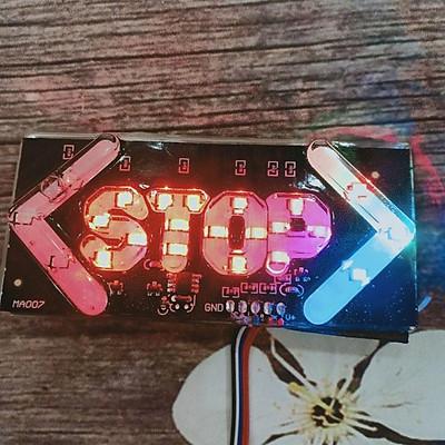 Đèn LED Stop trang trí gắn cho ô tô , xe máy - A360