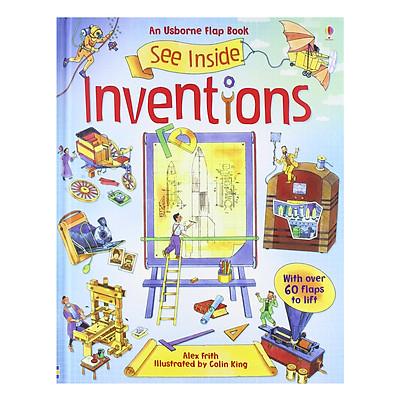 Sách tương tác tiếng Anh - Usborne See Inside Inventions