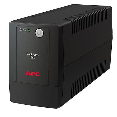 Bộ lưu điện: APC Back-UPS 650VA, 230V, AVR, Universal Sockets-BX650LI-MS - Hàng Chính Hãng