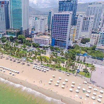 Novotel Nha Trang Hotel 4* - Đối Diện Biển, Gần Tháp Trầm Hương, Buffet Sáng, Xông Hơi, Hồ Bơi Bên Vịnh Cực Đẹp