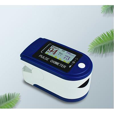 Máy đo nồng độ oxy trong máu và đo nhịp tim SPO2 Kẹp ngón tay, dái tai hoặc ngón chân tại nhà