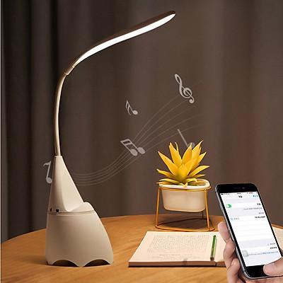 ĐÈN BÀN - Đèn Học Để Bàn Đọc Sách Chống Cận 3 Chế Độ Sáng Tích Hợp Loa Bluetooth Phát Nhạc Độc Đáo