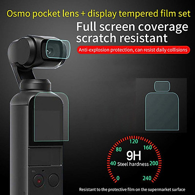 Tempered Glass For Dji Osmo Pocket Camera Lens Screen Protector Protective