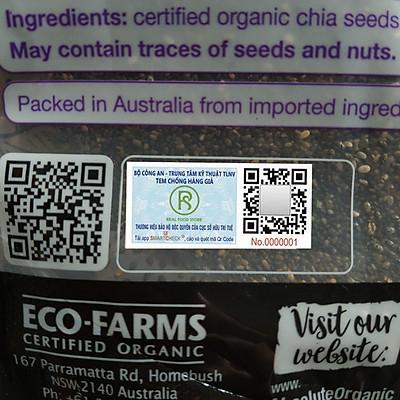 Túi Hạt Chia Tím Organic Úc (1kg)