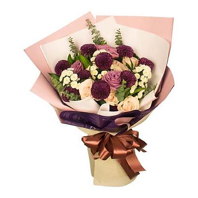 Bó hoa tươi - Rose Bin 3943