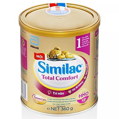 Sữa Similac Total Comfort 1 360g ( cho trẻ 0-12 tháng) - dành cho trẻ rối loạn tiêu hóa, táo bón, trào ngược [Mẫu mới]