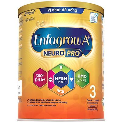 Sữa bột Enfagrow A+ NeuroPro 3 với 2'-FL HMO cho trẻ từ 1 – 3 tuổi– 400g