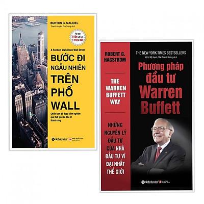 Combo 2 cuốn Bước Đi Ngẫu Nhiên Trên Phố Wall+Phương Pháp Đầu Tư Warren Buffett( Tặng kèm bookmark Phương Đông)