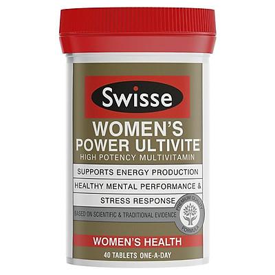 Swisse Women's Ultivite Power Multivitamin 40 Tablets