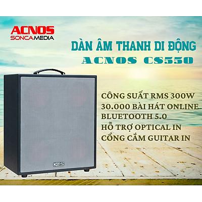 Dàn âm thanh di động Acnos CS550 - Hàng Chính Hãng