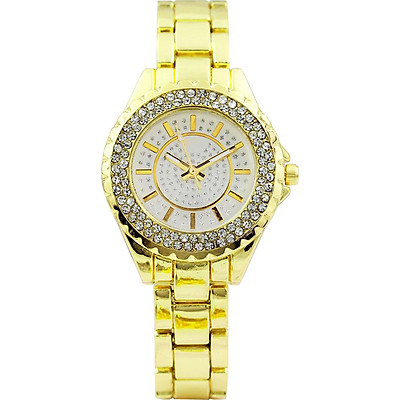 Wristwatches Casual Watch Luxury 3 Colors Alloy Pointer Woman Lady