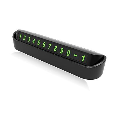 Bảng số điện thoại gắn taplo ô tô Y-428 (Màu đen)