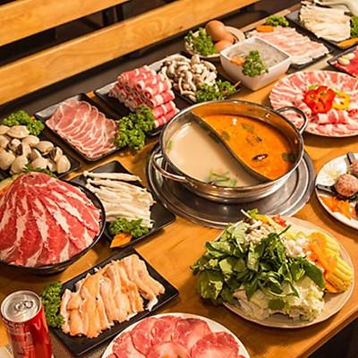 Hệ Thống Taka BBQ - 01 Vé Buffet Lẩu Premium Trưa / Tối Chuẩn Vị Hàn Quốc