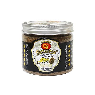 Cà phê hòa tan sấy lạnh Con Chồn Vàng Huca Food C7 hộp 120gr