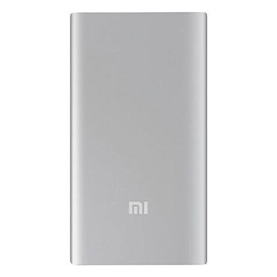 Pin Sạc Dự Phòng Xiaomi 5000mAh (Bạc) - Hàng Chính Hãng