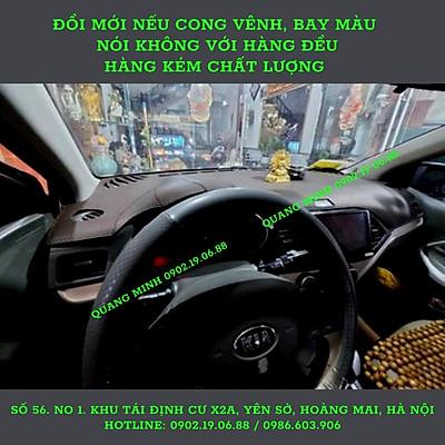 THẢM TAPLO DA VÂN C.A.R_B.O.N KIA MORNING 2013 - 2020