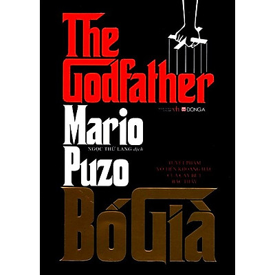 Bố Già (Bìa Cứng - Tái Bản 2019) - Mario Puzo Tặng Bookmath Kẽm