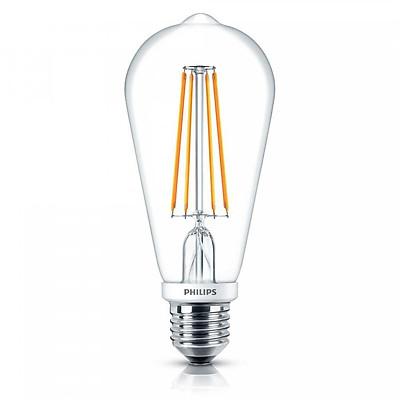 Bóng Đèn Philips LED Classic 4W 2700K E27 ST64 - Ánh Sáng Vàng - Hàng Chính Hãng