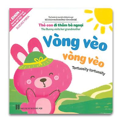 Ehon Song ngữ Anh Việt - Nuôi Dưỡng Tâm Hồn Bé - Thỏ Con Đi Thăm Bà Ngoại (Kèm File Âm Thanh)