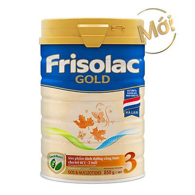 Sữa Bột Frisolac Gold 3 850g (Dành Cho Trẻ Từ 1 - 2 Tuổi)