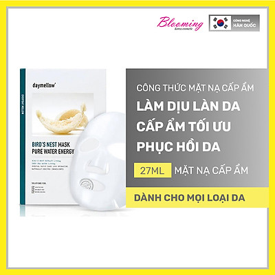 Mặt Nạ Daymellow Chiết Xuất Từ Tổ Yến Bird'S Nest Mask Pure Water Enegry 27ml