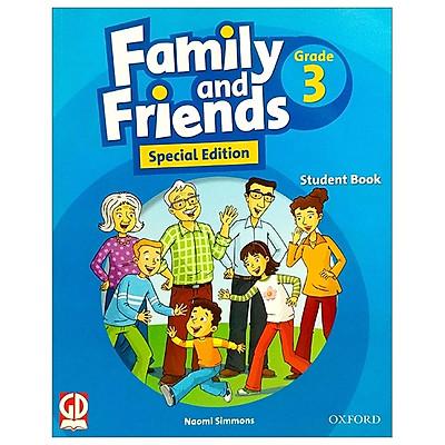 Family and Friends Special Edition 3 - Student book (dành cho HS học từ lớp 3) - Kèm 2 đĩa CD