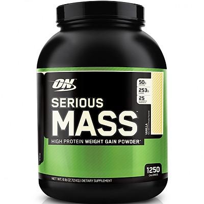 Sữa Tăng cân tăng cơ Optimum Nutrition Serious  Mass 6 LBS (2.72kg)