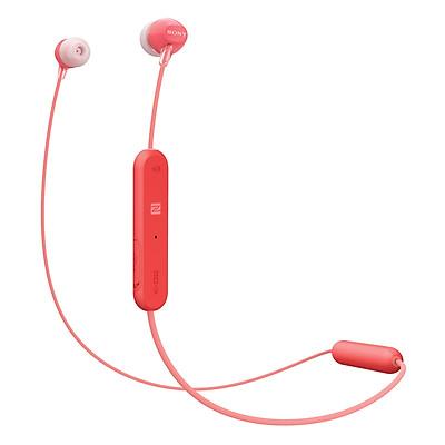 Tai Nghe Sony WI-C300/RZE (Đỏ) - Hàng Nhập Khẩu