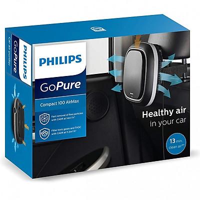 Máy lọc không khí trên oto, xe hơi Philips Cao Cấp GoPure Compact 100 Airmax - Hàng nhập khẩu