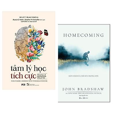 Combo 2 cuốn: Tâm Lí Học Tích Cực - Khoa Học Về Phương Thức Sống An Lạc + Homecoming - Hồi Sinh Đứa Trẻ Bên Trong Bạn