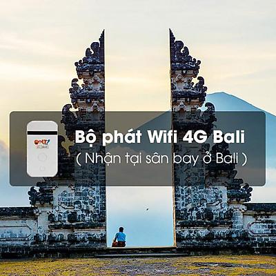 Thuê Bộ Phát Wifi 4G Bali 6 Ngày