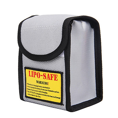 Túi chống nhiệt di động Chống cháy nổ Bảo vệ pin Lipo