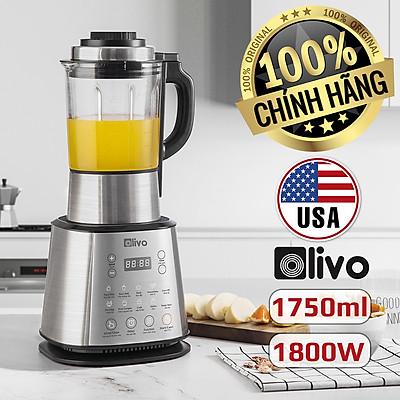 [CHÍNH HÃNG] Máy Làm Sữa Hạt OLIVO X20 - Chống Tràn - Xay Mịn Không Cần Lọc - Máy Xay Nấu Đa Năng - Thương Hiệu Mỹ