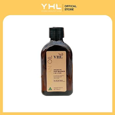 TINH DẦU DƯỠNG TÓC YHL ARGAN OIL (YHL ARGAN OIL HAIR TREATMENT 2 IN 1 PLUS)
