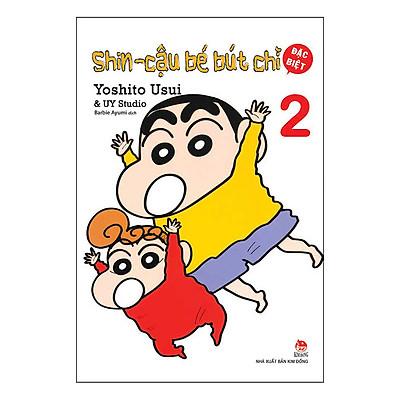 Shin - Cậu Bé Bút Chì - Tập 2 (Bản Đặc Biệt) (Tái Bản 2019)